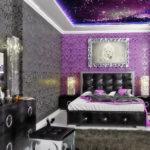 оформление модной спальни