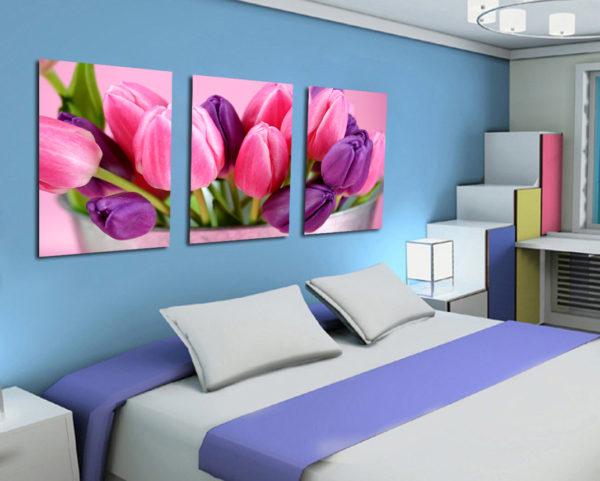 оригинальные картины для интерьера спальни