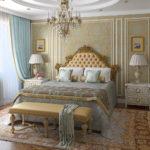 оригинальные обои для интерьера спальни
