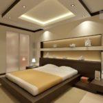 дизайн модной спальни