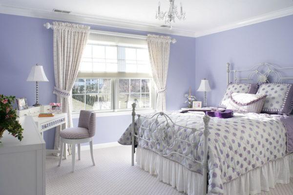 интерьер спальни в 2017