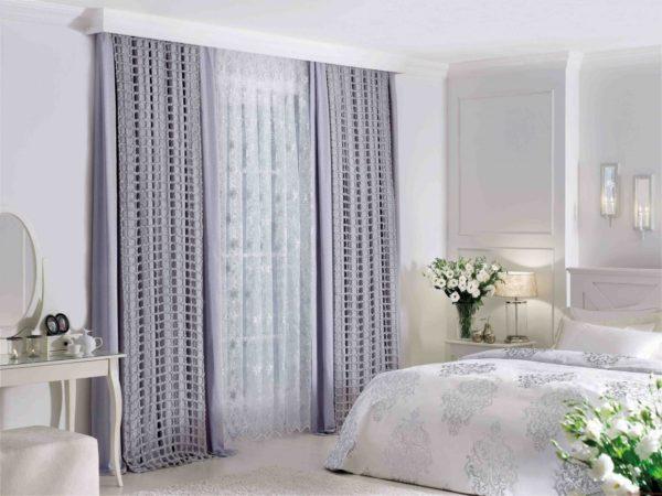 роскошный дизайн спальни 2017