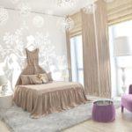 оформление дизайна детской спальни