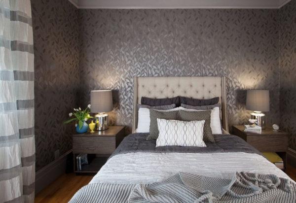 необычный дизайн спальни 2017