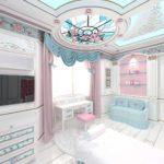 оформление интерьера детской спальни