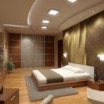 изящный дизайн спальни