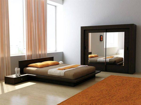 оригинальная красивая мебель в спальню
