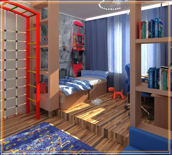красивая детская спальня