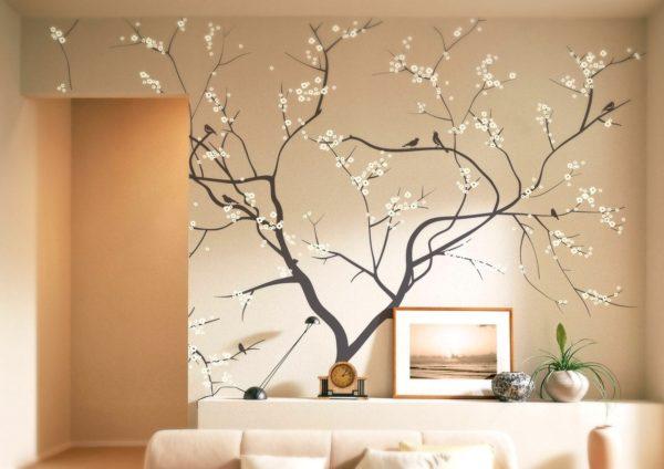 изящный рисунок дерева