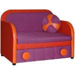 цветное кресло кровать
