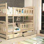 детская двухэтажная кровать с площадкой для игр