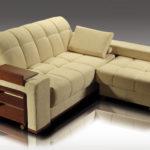 угловой диван-кровать с полочками