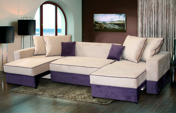 фото диван-кровати в разобранном виде