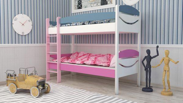 двухэтажная кровать для мальчика и девочки