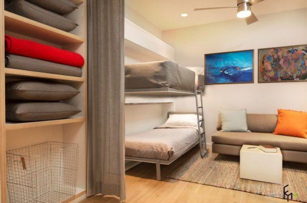 взрослая двухэтажная кровать