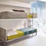 двухэтажная кровать-шкаф