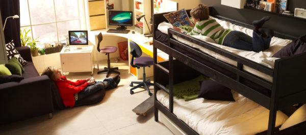 фото двухъярусной кровати для детей
