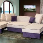 двухцветный кровать диван
