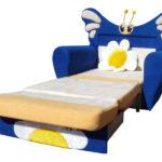 кресло кровать с бабочкой