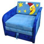 кресло кровать с месяцем и звездами