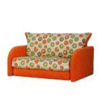 рыжее кресло кровать