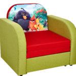 кресло кровать с мультиком