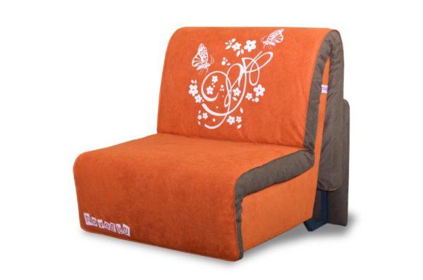 оранжевое кресло кровать