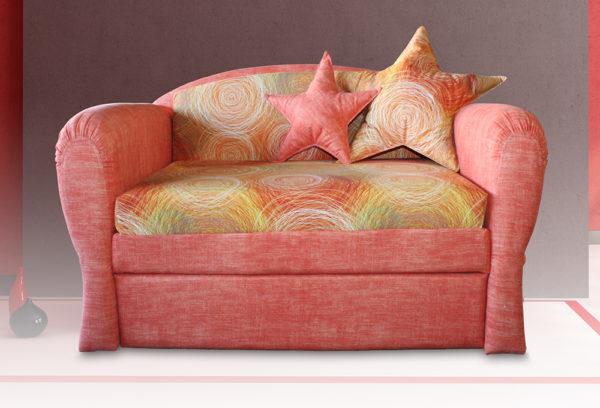 кресло-кровать с морскими звездами