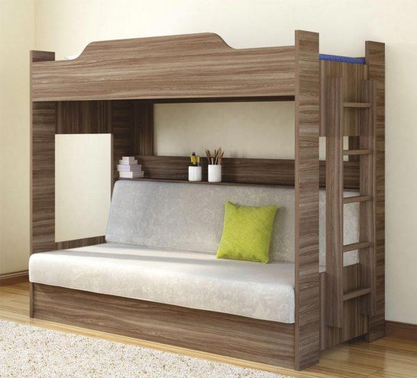 двухъярусная постель для подростка