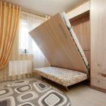 опускающаяся кровать-шкаф