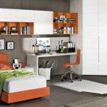 оранжевая постель