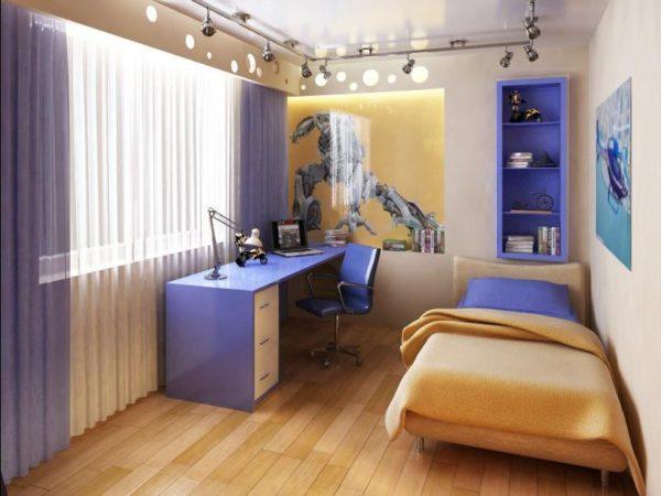 кровать в комнату мальчика с трансформерами