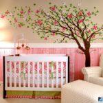 фото стены в детской комнате