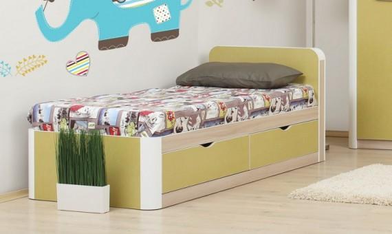 простая кровать для подростка
