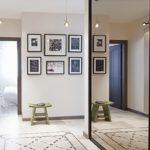 фото оформления стен коридора