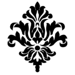 орнамент королевской лилии