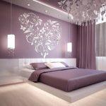 рисунок в спальне