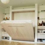 кровать-трансформер встроенный