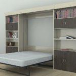шкаф-кровать с матрасом