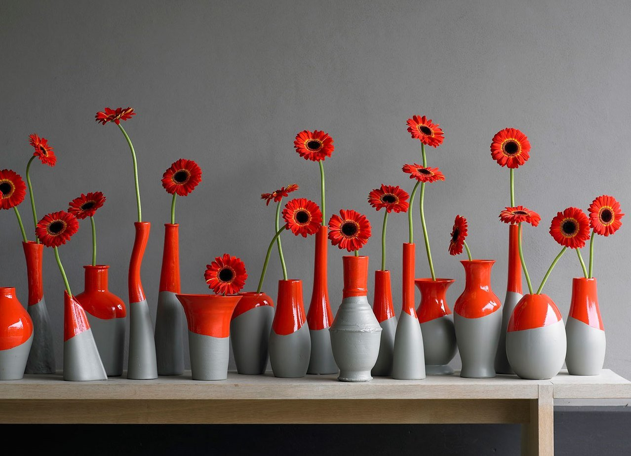 Как сделать вазу на стене
