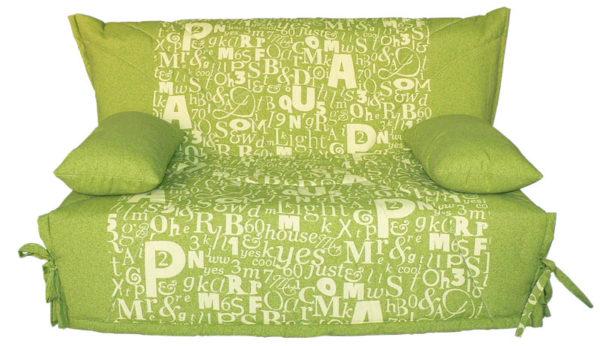 фото зеленого кресла-кровати