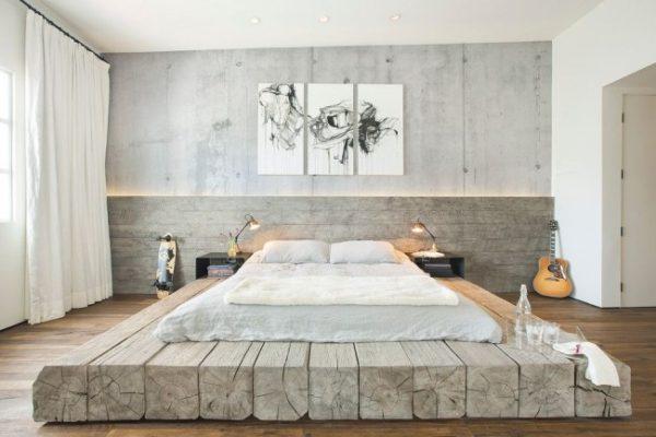 фото кровати-подиума для подростка