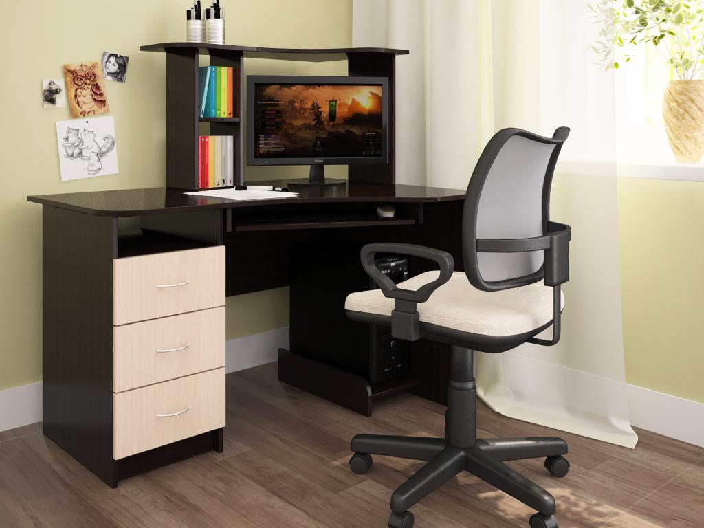 Компьютерный стол своими руками для ноутбука или стационарно.