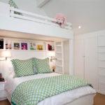 детская кровать-чердак со спальным местом для родителей