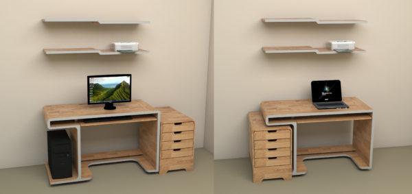 компьютерный модульный стол