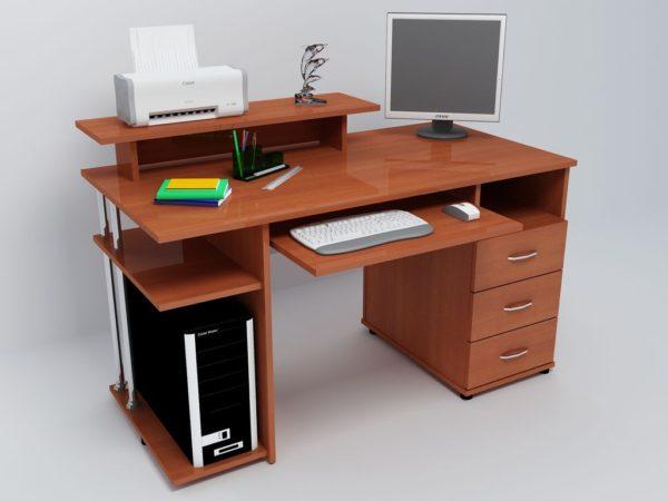 компбютерный стол своими руками с принтером