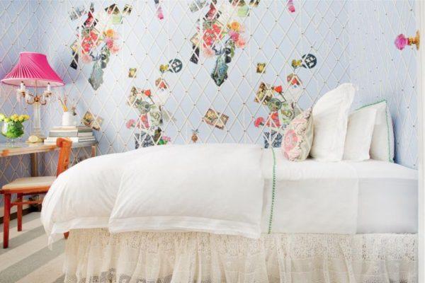 кровать с пуховым одеялом для подростка