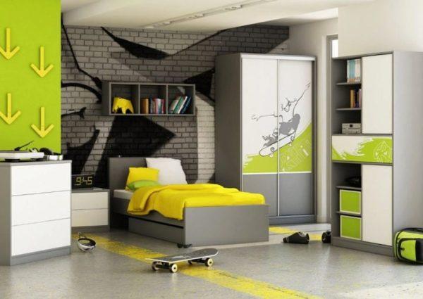 кровать для мальчика подростка