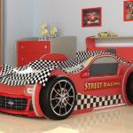 кровать-машина для гонок