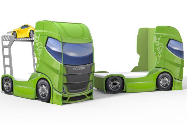 фото машины-кровати в виде грузовика